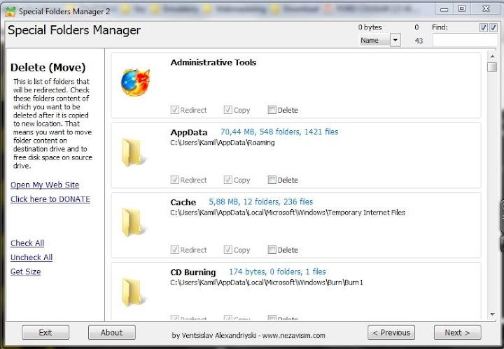 Obrazek Przeniesienie folderu użytkownika na inną partycję.