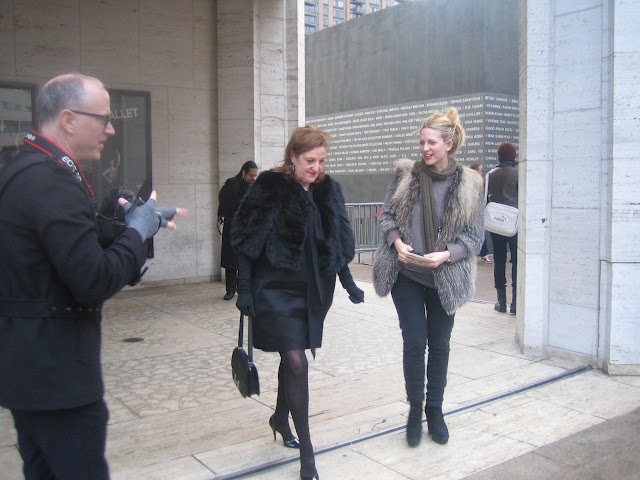 Mr Newton took a picture of Harpers Bazaar Editor