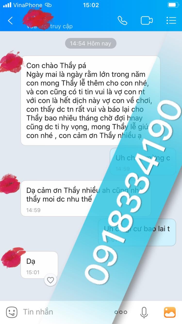 Với những thông tin nêu trên hy vọng giúp bạn có đầy đủ mọi thông tin về thầy bùa yêu ở Lai Châu. Nếu bạn đang có nhu cầu tìm cho mình một thầy bùa yêu cao tay thì còn chần chờ gì nữa hãy liên hệ ngay với thầy Pá Vi ngay giờ.