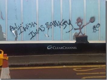 Banksy wannabe