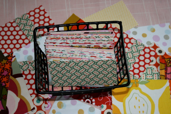 Cards in basket 1