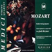 Mozart: Clarinet Quinter In A Major And String Quartet In D Major