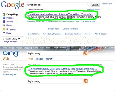 Google catch Bing copycat result search Google engine