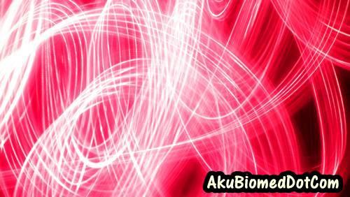 Corak rawak warna merah dengan Light Graffiti