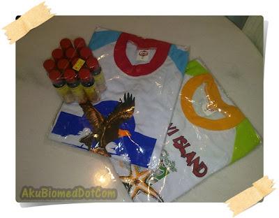 Minyak Gamat dan T Shirt anak-anak