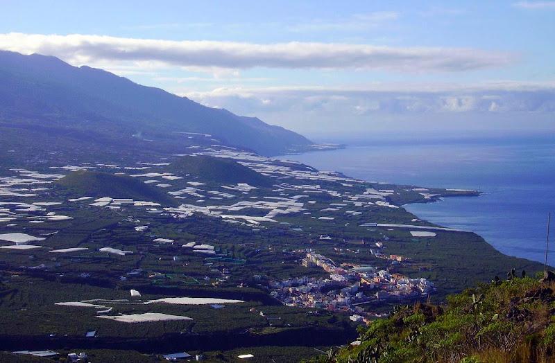 Ausblick vom El Time,La Palma,Kanaren
