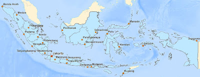 Download Indonesia Basemap (shapefile)