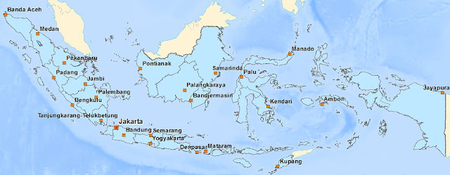 Download Indonesia Map from OpenStreetMap Data