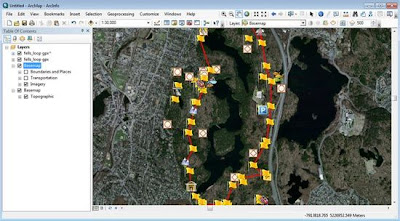gps data to arcmap