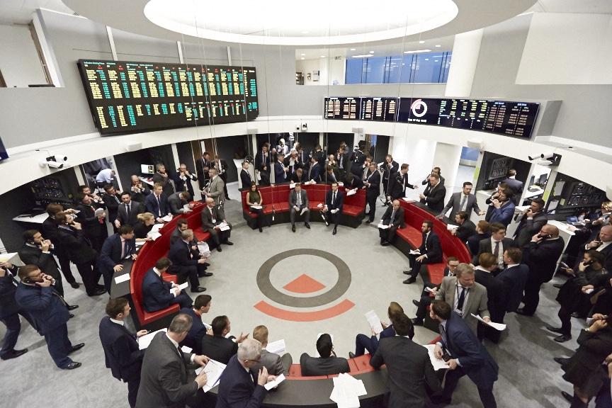 Ring en el LME donde se fijan los precios de los metales no ferrosos a nivel mundial