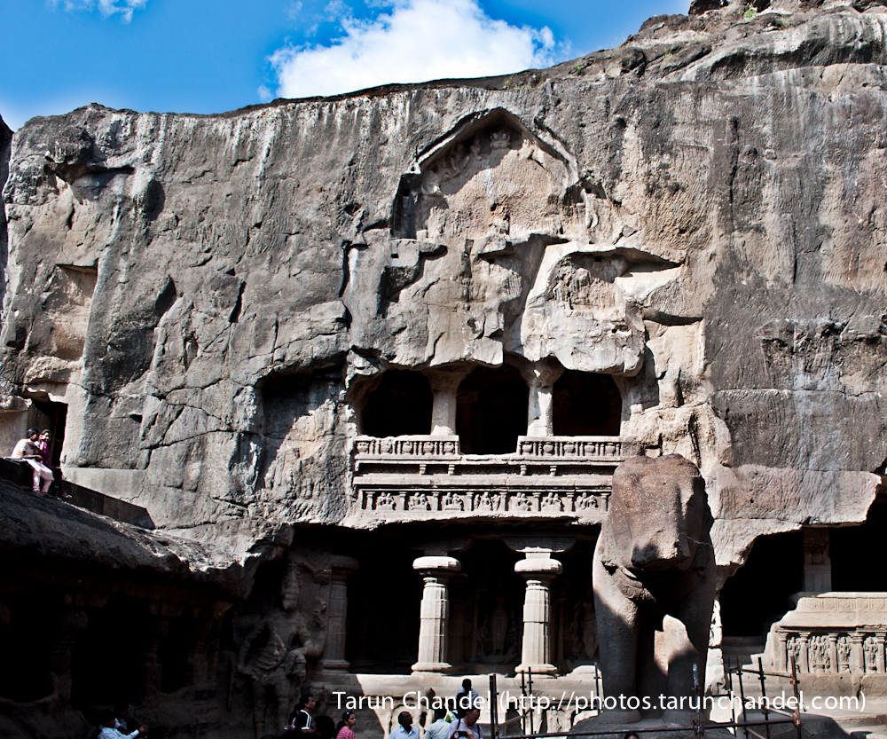 ellora caves India, Tarun Chandel Photoblog