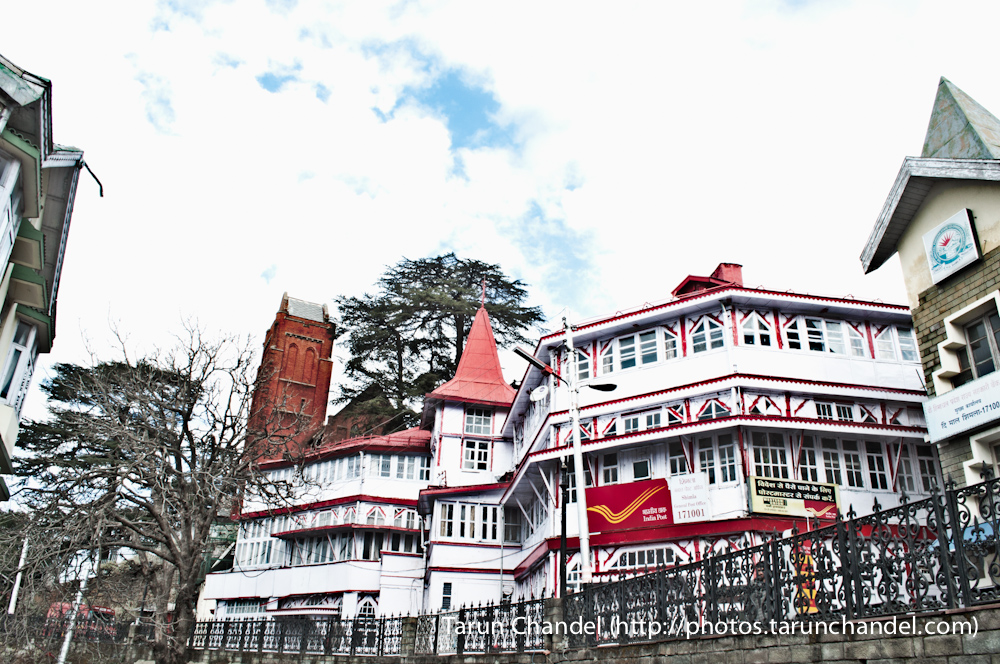 Shimla Post office, Tarun Chandel Photoblog
