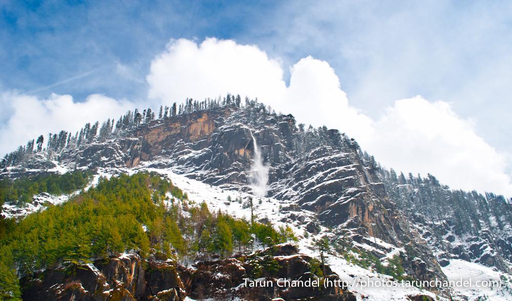 Manali Frozen Waterfall Manali himachal, Tarun Chandel Photoblog