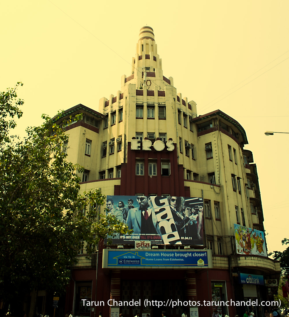 Eros Cinema Mumbai, Tarun Chandel Photoblog