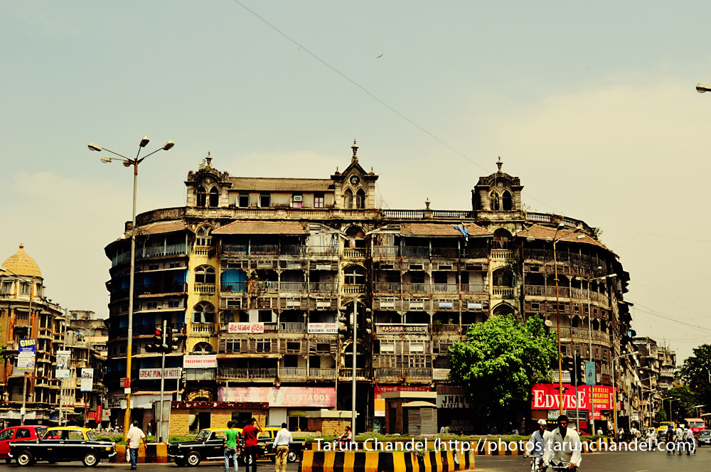 Old Building Mumbai Street, Tarun Chandel Photoblog