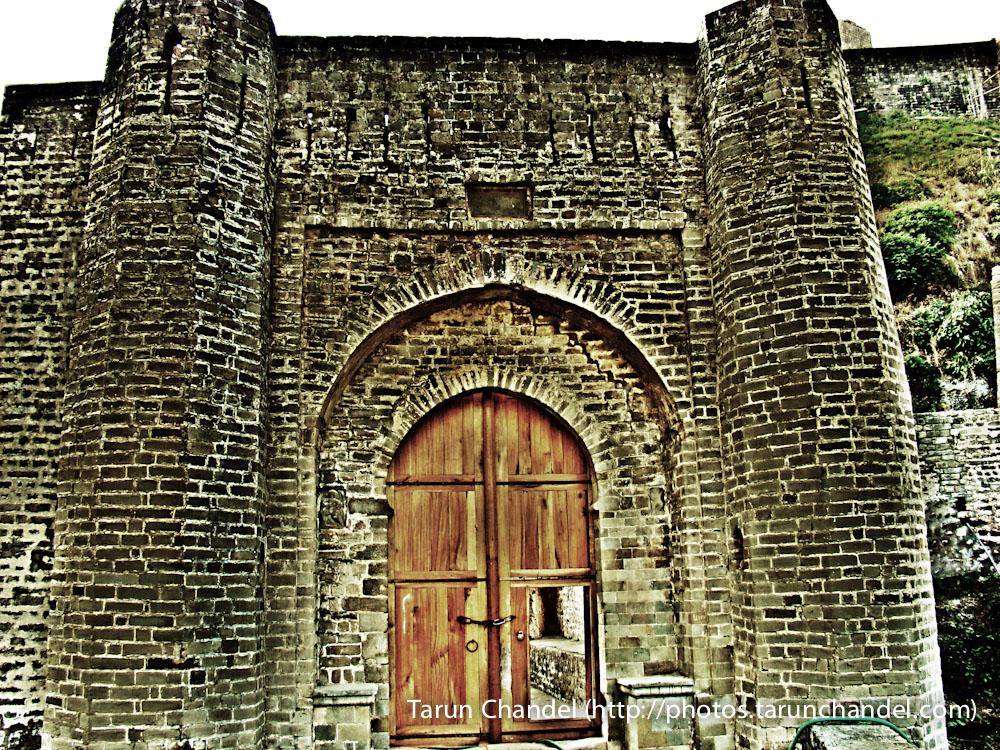 Kangra Fort Gate Himachal, Tarun Chandel Photoblog