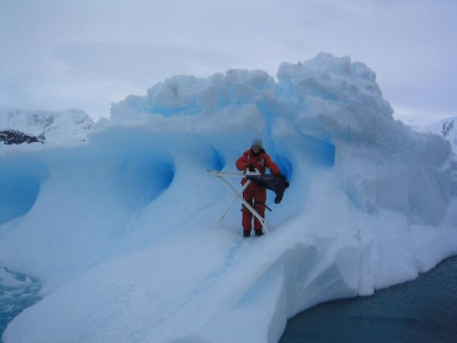 Extreme Ironing In The Snow