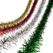 Christmas Tinsel Decoration