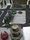 (Space Marine) Salamanders vs Saim-Hann (Eldar)