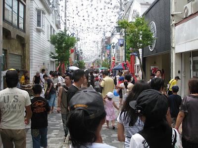 2010年石巻川開き祭りの様子