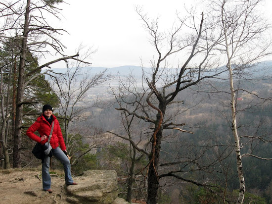 wzgórze Chojnik - punkt widokowy