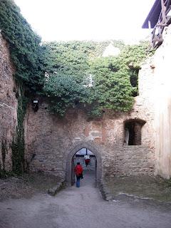 zamek Chojnik - najstarsza część