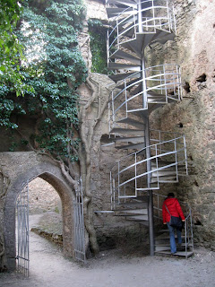 zamek Chojnik - wejście na wieżę widokową