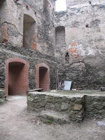 Zamek Bolków - pomieszczenia gospodarcze