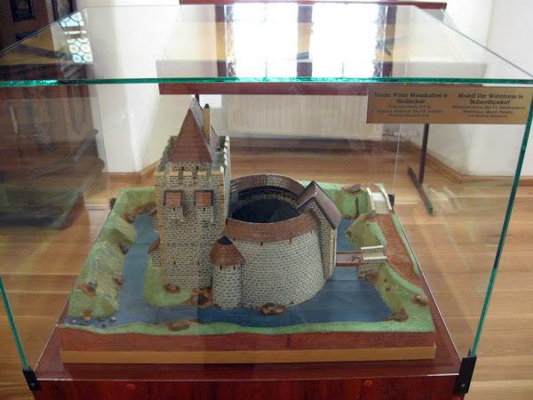 Makieta Wieży Mieszkalnej w Siedlęcinie