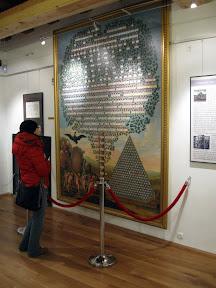 Muzeum Zamkowe - drzewo genealogiczne Piastów
