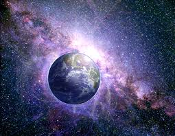 Image result for galaxy with planets floating around