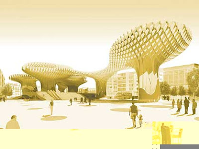 Metropol Parasol, Sevilla, Севилья, J. MAYER H. Architects , архитектура, аэропорт в Mestia, КостаБланка.РФ, недвижимость в Испании