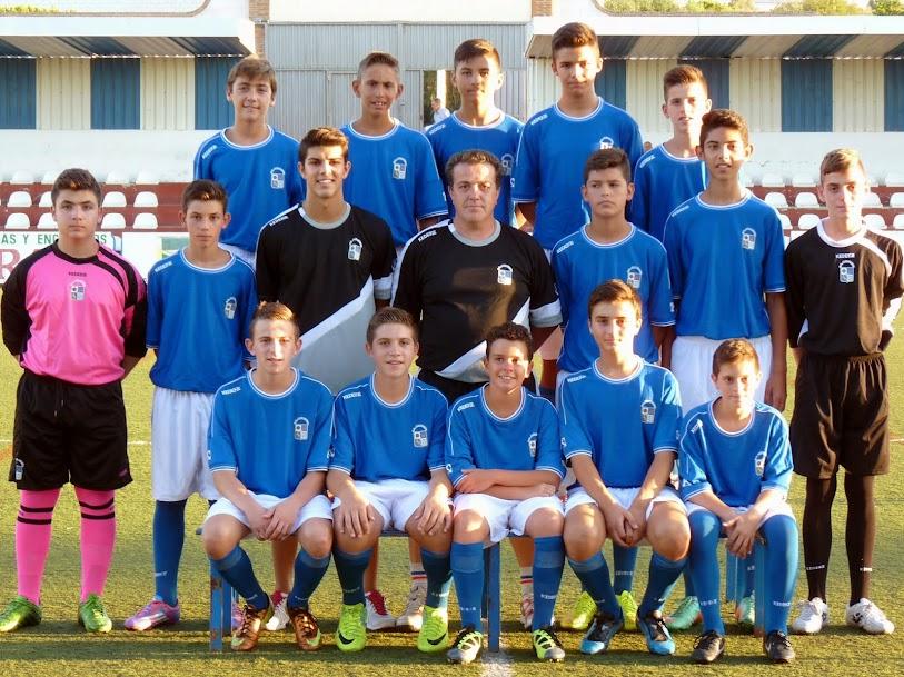 """Plantilla del Club Deportivo Alhaurino Cadete """"B"""""""