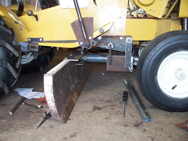 Craftsman Lawn Tractor Grader : Homemade suburban mid mount grader blade page