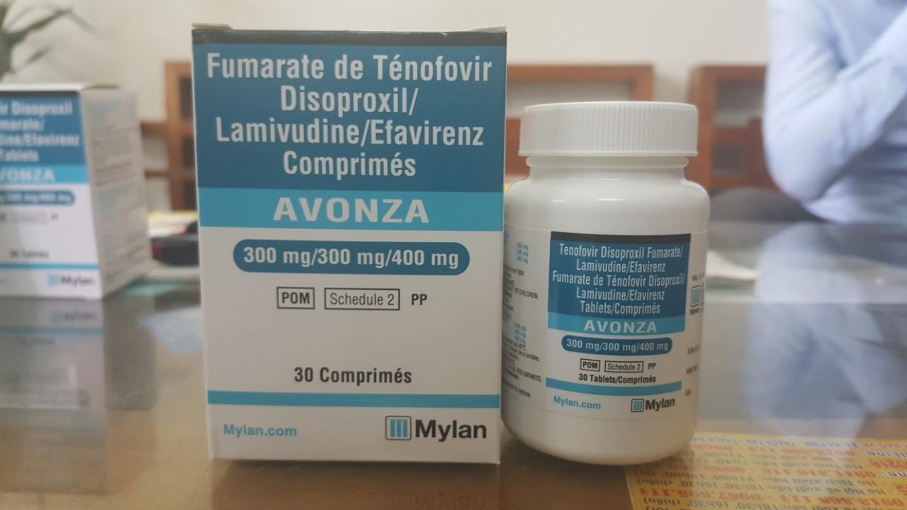 Thuốc Avonza điều trị và dự phòng phơi nhiễm HIV Công ty Cổ phần Dược phẩm  Đất Việt