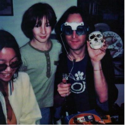 Julian Partying Hard With Dad And May Pang