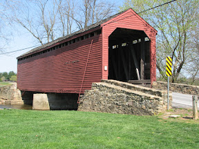 Historic covered bridges in Frederick County Md