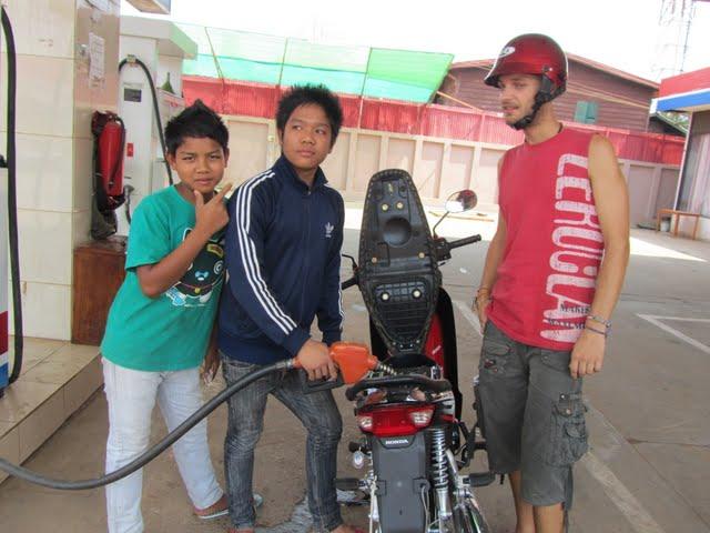 motorbike trip Laos
