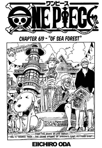 of sea forest| Read One Piece 619 Online | 00 - Press F5 to reload this image