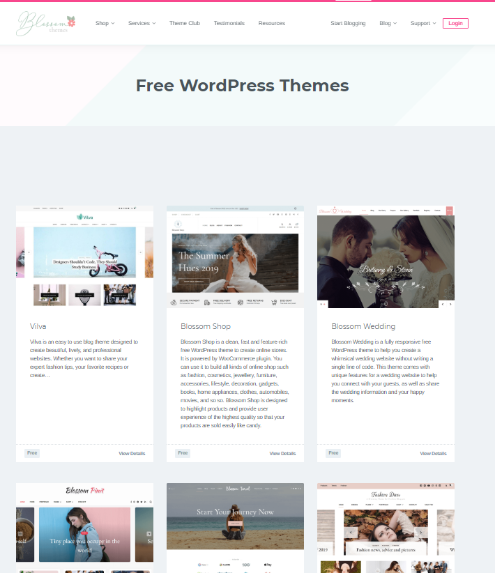 new wordpress blog setup themes