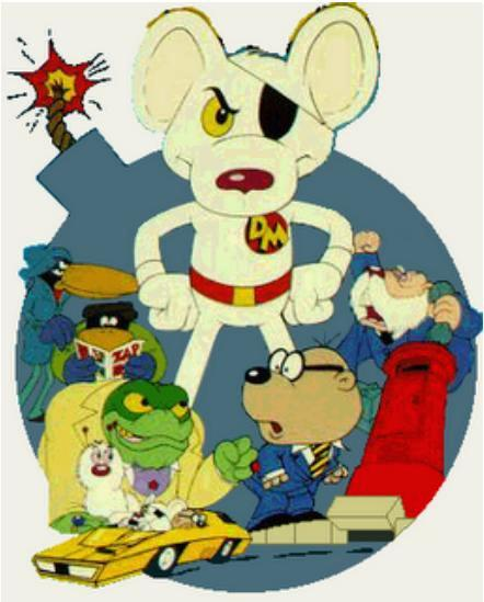 Danger Mouse Cartoon Picture 4
