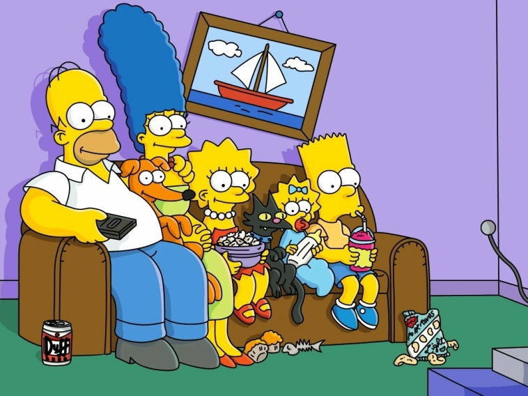 The Simpsons Cartoon Picture 2