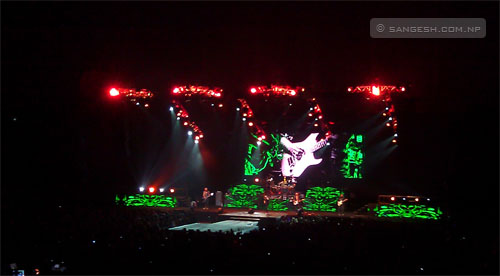Scorpions performing live in Thailand - 2011