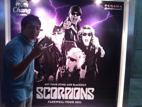 Scorpions Concert - Impact Arena, Bangkok Thailand