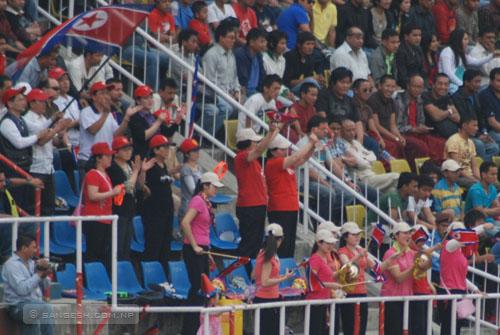 AFC Challenge Cup 2011 - DPR Korea Fans