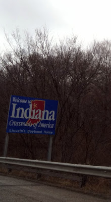 Indiana State Line Photo