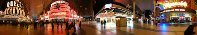 Downtown Las Vegas Panorama Photo