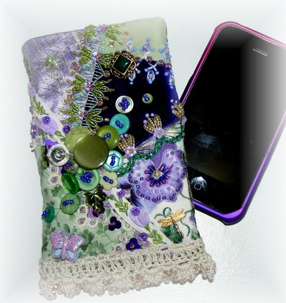 Purple Cellphone Pouch