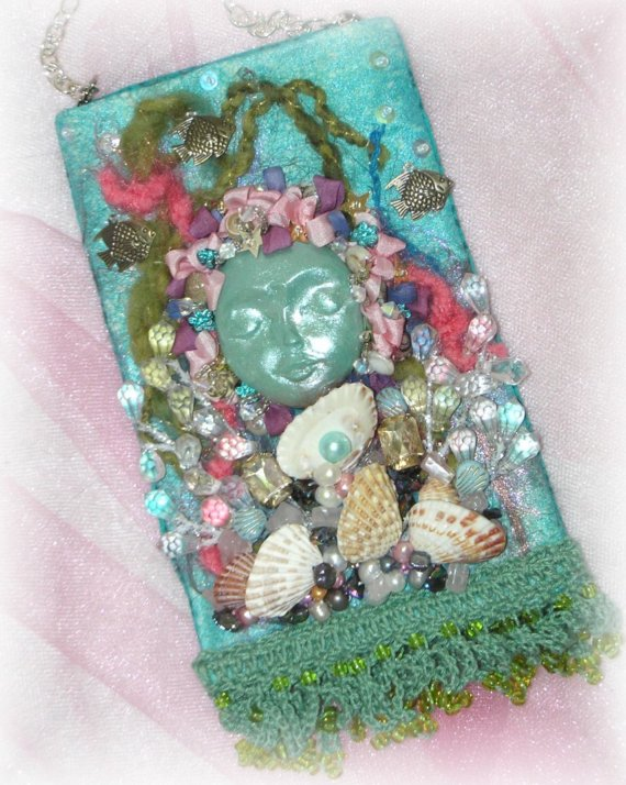 Seascape Cellphone Pouch