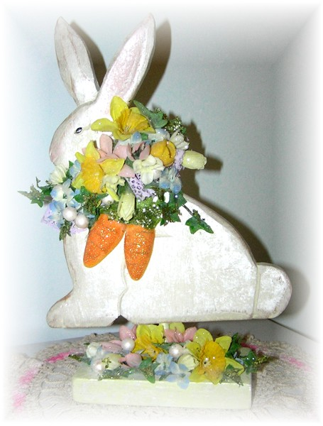 Easter Bunny Table Centerpiece